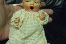 •,Antique Dolls / Vintage Dolls / by Gretchen B.