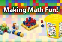 Keeping Math Fun / Fun ways to engage young children in math learning. / by Kaplan Toys
