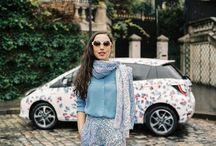 Toyota x Capsule 2014 / Toyota s'associe à Cacharel, Calla et Surface to Air, marques présentes au salon Capsule, pour rhabiller son auto made in France. La plus innovante et la plus trend des voitures porte des robes aux imprimés uniques, créés spécialement pour elle.  http://lesgarconsenligne.com/2014/02/16/toyota-x-capsule/