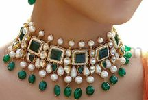 Gold and gem stone jewelry