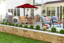 Outdoor Spaces Your Family Will Love / Outfitting a lush outdoor area means more than just buying a grill and picking pretty plants. Use these tips to create a backyard oasis no one will ever want to leave. In partnership with Honda.