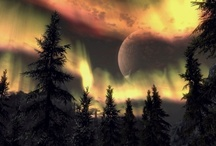 Aurora Australis, Aurora Borealis / want to see and experience the northern lights or the southern lights