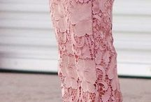 Платья кружевные