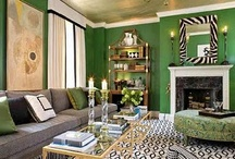 black/green room / by Cindy Smith