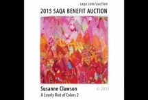 Videos: SAQA 2015 Benefit Auction Dream Collections / Don't miss your chance to bid on beautiful and unique art quilts made by 358 SAQA members. Plus, your purchases help increase the recognition for art quilts and the artists who make them while supporting SAQA's exhibitions, publications, and education outreach. Section 2 on bid now!