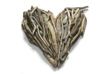 Driftwood Hearts / Gorgeous driftwood hearts can be commissioned and custom made to fit your space. #driftwood #heart #art #unique