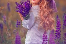 Lavender fields photo shoot