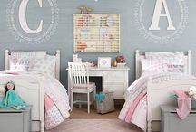 toddler room ideas (share bedroom)