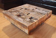 DIY Projects / From flooring to table tops, there are many ideas you can accomplish by using reclaimed wood.