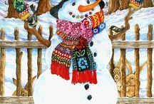 """Snowmen"" 1 / ART"