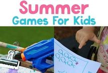 outdoor summer games