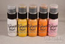 Distress paint techniques