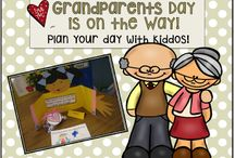 Grandparents Day! / September 11th Activities for a special day with Grandparents along with activities and a craft.