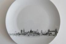 kresba na keramiku Sharpie