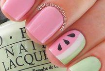 diseños de uñas Fran