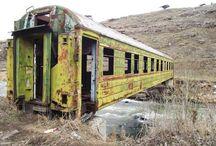 trens velhos