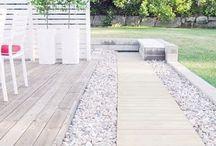 Projekt Ordna trädgården / Inspirationsbilder för vårt trädgårdsprojekt
