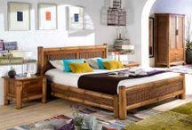 LITS EN BOIS / Des idées et des propositions pour décorer et meubler les chambres avec de beaux lits en bois. Décoration Beltran, votre boutique de décoration en ligne. Visitez: www.decorationbeltran.fr