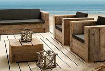 Ideas para el hogar / Ideas para muebles de exterior
