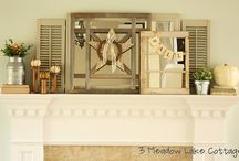 Mantel Ideas / by Amanda Hutton