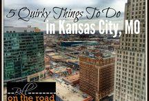Goin' to Kansas City. / Kansas City, here I come.  ((Work things))