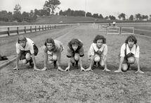 Jeux olympiques féminins Paris 1922 / Athlètes Stade Pershing