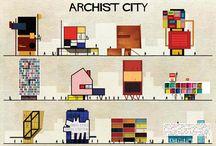 Illustrazioni d'architettura