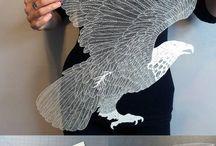 papier decoupe/ collage