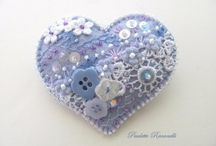 CRAFTS-HEARTS-FELT / by Lesa Steele