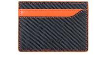 Mens RFID Front Pocket Wallets Minimalist Card Holder Slim Wallet Carbon Fiber