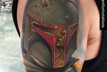 Star Wars Tattoos / Fantastic Star Wars themed tattoos!
