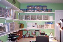 Naaldwerkkamer / My nuwe naaldwerkkamer (in wording) op die plaas