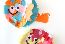 small children's crafts / by Vickie Curtis
