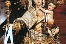 La Virgen del Carmen, tallas y pinturas