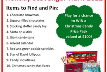 CandyWarehouse Holiday Scavenger Hunt / by Tina Maxwell-Hardister