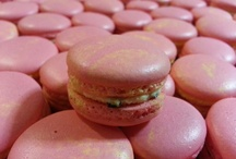 Mini Macs / French Macarons, sweet classical cookies, made petite for the indulgement...