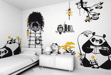 Nice wall stickers
