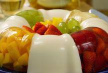 gelatina de frutas '