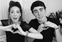Zoella and Alfie / They're great YouTube people