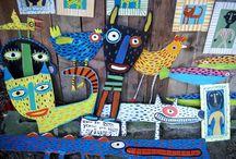 Folk Art Lesson Ideas