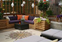 Rooftop gardens & spaces