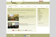 Vores hjemmeside / Her kan du se et billed af vores hjemmeside.