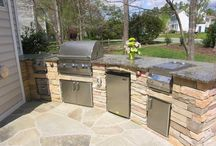 Outdoor Kitchen Designs by Elle