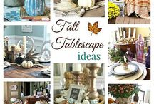 fall fun / Fall decor, crafts, and food.