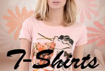 T-Shirts / From sexy to casual T-shirts and vests you will find a great range at Alisha Mai