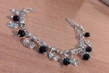 WIRE COPPER / Biżuteria ręcznie wykonana przeze mnie z miedzi.