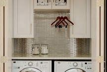 Mud room/Laundry room / by Jessica Richardson