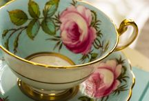 TEA CUPS , TEAPOTS, & MORE. / by Joy Martin