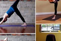Yoga @ Home Lists / An easy way to get motivated and remember the progression of positions is lists, so here you go :)