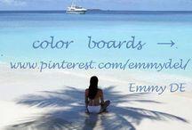 ~ му cσℓσя вσαя∂ѕ → / Emmy DE * color boards → / by Emmy DE
